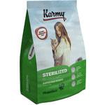 Сухой корм Karmy Sterilized (индейка)
