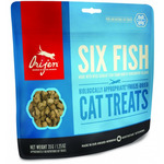 Лакомства Orijen FD Six Fish Cat treats (6 видов рыб)