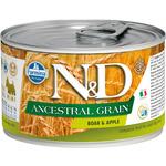 Консерва Farmina N&D Ancestral Grain Dog Mini Boar & Apple