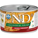Консерва Farmina N&D Ancestral Grain Dog Mini Chicken & Pomegranate