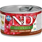 Консерва Farmina N&D Dog Quinoa Venison & Coconut