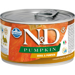 Консерва Farmina N&D Dog Mini Pumpkin Quail