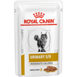 Влажный корм Royal Canin URINARY S/O MODERATE CALORIE пауч