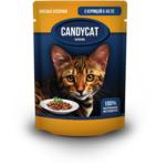 Влажный корм Candycat с курицей в желе