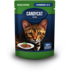Влажный корм Candycat с кроликом в желе