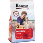 Сухой корм Karmy Medium Junior (телятина)
