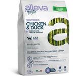 Сухой корм Alleva Holistic Chicken & Duck + Sugarcane fiber & Ginseng Neutered