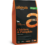 Сухой корм Alleva Natural Chicken & Pumpkin Puppy Medium