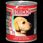 Влажный корм Зоогурман БигДог говядина для щенков