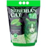 Наполнитель Сибирская Кошка Тофу Зеленый чай