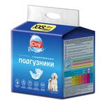 Подгузники Cliny XXS (1-2,5кг) для кошек и собак