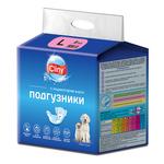 Подгузники Cliny L (8-16кг) для кошек и собак