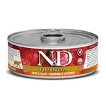 Консерва Farmina N&D Cat Quinoa Skin & Coat Herring