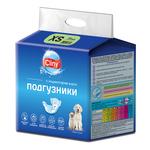 Подгузники Cliny XS (2-4кг) для кошек и собак