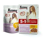 Влажный корм Karmy Kitten курица в соусе