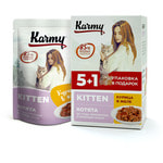 Влажный корм Karmy Kitten курица в желе