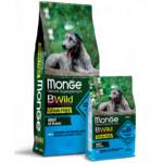 Сухой корм Monge Dog BWild GRAIN FREE All Breeds Adult Acciughe (анчоус, картофелем и горох)