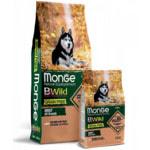 Сухой корм Monge Dog BWild GRAIN FREE All Breeds Adult Salmone (лосось и горох)