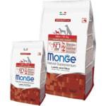 Сухой корм Monge Dog Monoprotein Mini Puppy & Junior Lamb (ягненок и рис)