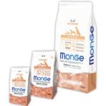 Сухой корм Monge Dog Monoprotein Puppy & Junior Salmone (лосось и рис)