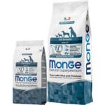 Сухой корм Monge Dog Monoprotein Trout (форель, рис и картофель)
