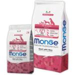 Сухой корм Monge Dog Monoprotein All Breeds Beef (говядина и рис)