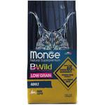 Сухой корм Monge Cat BWild LOW GRAIN Hare (заяц)