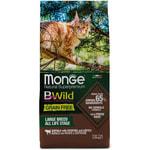 Сухой корм Monge Cat BWild GRAIN FREE Buffalo (буйвол)