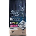 Сухой корм Monge Cat BWild LOW GRAIN Kitten (гусь)