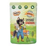 Влажный корм Мнямс Сочные кусочки «Фермерская ярмарка» (кролик)