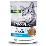 Влажный корм Pro Plan для стерилизованных кошек, треска