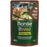 Влажный корм Monge Cat BWild Grain Free (из мяса буйвола с овощами)