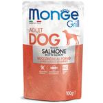Влажный корм Monge GRILL для собак с лососем
