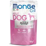 Влажный корм Monge GRILL для собак со свининой