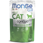 Влажный корм Monge GRILL для кошек с кроликом