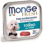 Влажный корм MONGE DOG FRESH с тунцом