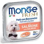 Влажный корм MONGE DOG FRESH с лососем