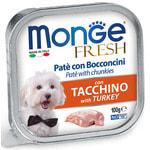 Влажный корм MONGE DOG FRESH с индейкой