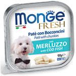 Влажный корм MONGE DOG FRESH с треской