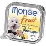Влажный корм MONGE DOG FRUIT со свининой и ананасом
