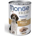 Влажный корм MONGE DOG FRESH, курица