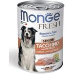 Влажный корм MONGE DOG FRESH c индейкой и овощами