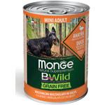 Влажный корм  MONGE DOG BWILD, утка, тыква и кабачки