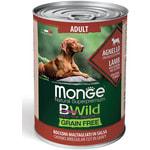Влажный корм MONGE DOG BWILD, ягненок, тыква и овощи