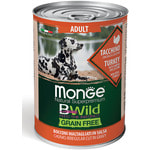Влажный корм MONGE DOG BWILD, индейка, тыква и кабачки