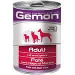 Влажный корм Gemon Dog паштет из говяжьего рубца