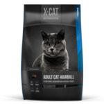 Сухой корм X-CAT Adult Cat Hairball (индейка)
