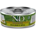 Влажный корм Farmina N&D GF кабан с яблоком