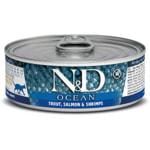 Влажный корм Farmina N&D Ocean с форелью, лососем и креветками