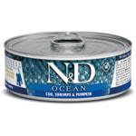 Влажный корм Farmina N&D Ocean для котят с треской, креветками и тыквой